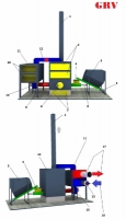 Теплогенератор автоматический с промежуточным теплообменником
