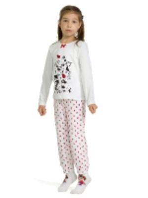 Трикотажные детские пижамы с начесом оптом