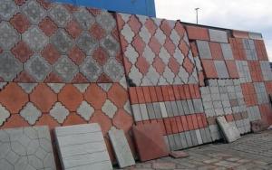 Тротуарная плитка квадратных размеров