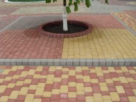 Цена укладку тротуарной плитки метр