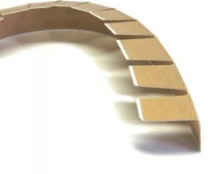 уголок защитный картонный с просечкой