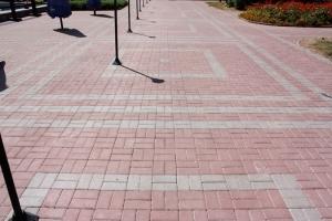 В строительной фирме стоимость укладки тротуарной плитки