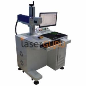 Волоконный лазерный маркер с металлическим столом SEKIRUS P0203M-VMS