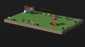 3D конструктор детских площадок: красиво и быстро