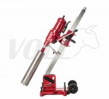 Алмазная сверлильная установка V-Drill 255N с наклонной стойкой + Ручной водяной