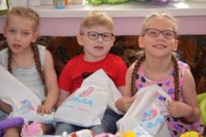 «Бергус» стал спонсором праздника для детей-инвалидов