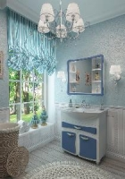 Коллекция мебели для ванных комнат Nicole TM Sfarzoso