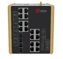 Компания QTECH презентует коммутаторы промышленного применения