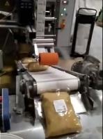 Нанесение этикетки на участке фасовки