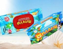 Новые влажные салфетки для детей по низкой цене