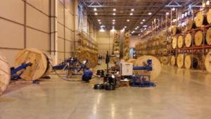 Организация кабельного склада с использованием оборудования ИПГ СМОЛ