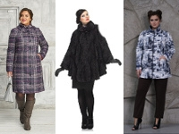 Пальто для полных девушек и женщин, как выбрать.