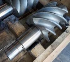 Ремонт винтовой пары компрессора