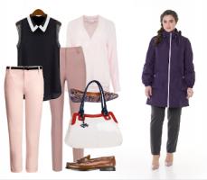 С чем носить баклажановый цвет весной?