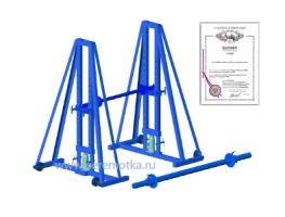 Снижена цена на гидравлический кабельный домкрат ДК-10ГМП