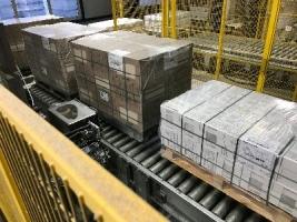 Установка принтера-аппликатора этикеток на заводе Керама-Марацци