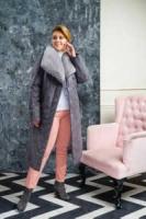 Зимние женские пальто с меховым воротником