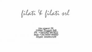 FILATI&FILATI SRL
