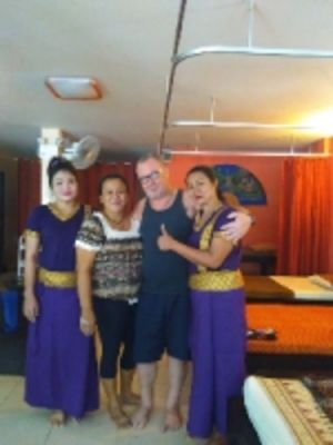 Тайские  массажистки.