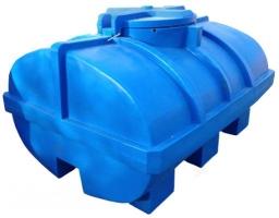 3500 л Пластиковая емкость для воды с люком