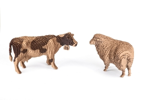 3D-ПАЗЛ «Корова»/3D-ПАЗЛ «Овца»