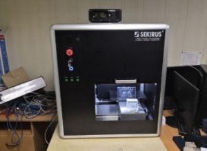 3D станок SEKIRUS P0505M-801AB1 для лазерной объемной гравировки в стекле