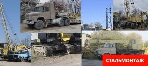 Аренда монтажных гусеничных кранов МКГ-40 и МКГ-25
