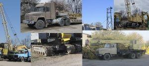 Аренда монтажных кранов МКГ на гусеничном ходу гп 25 - 40 тонн в Крыму