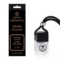 Ароматизатор Queen Aromatica Flacon Infinity Black (с нотками Armani Code Absolu) L-19