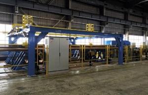 Автоматизированная транспортная линия перекладки насосно-компрессорных и бурильных труб