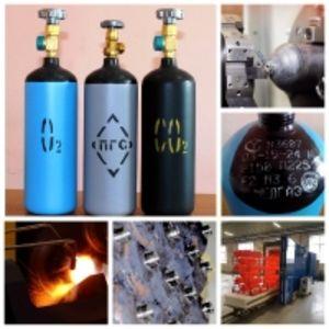 Баллоны стальные для технических газов