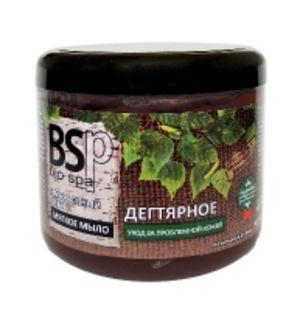 BIO&SPA Мягкое мыло для тела и волос Дегтярное, 500 мл
