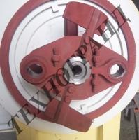 Блок крепления роликов к ОГМ 1.5. Запчасти для грануляторов ОГМ.