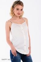 Блузка для беременных на бретелях