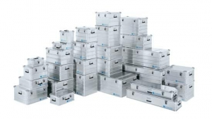 Бокс (контейнер) универсальный алюминиевый  «Zarges» (Германия).