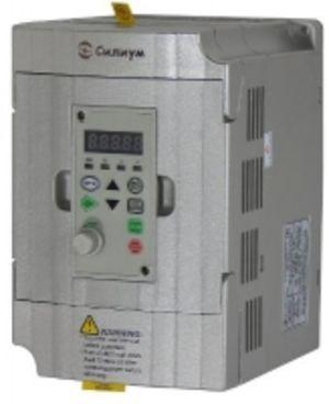 Частотный преобразователь на 1,5КВт/3,8А. марки Силиум