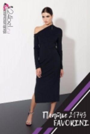 Черное платье 21743 FAVORINI