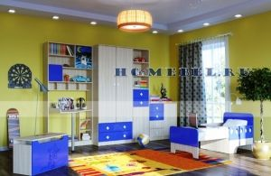 Детская мебель ЖИЛИ-БЫЛИ, комплект-1 синий
