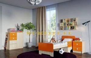 Детская мебель ЖИЛИ-БЫЛИ, комплект-3 оранжевый