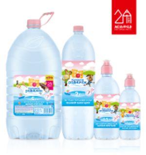 Детская питьевая негазированная вода