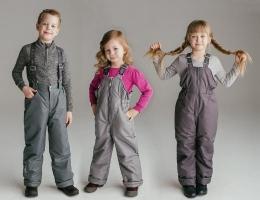 Детские брюки, полукомбинезоны