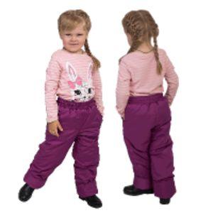 Детские  утепленные брюки и полукомбинезоны