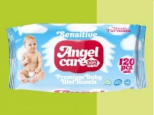Детские влажные салфетки AngelCare