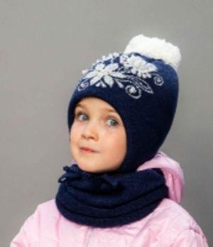 Детские зимние комплекты для девочек от ТМ Selfiework