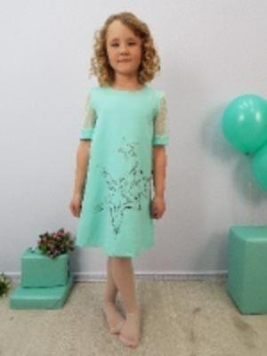 Детское нарядное платье - 19-15 (оптом от производителя)