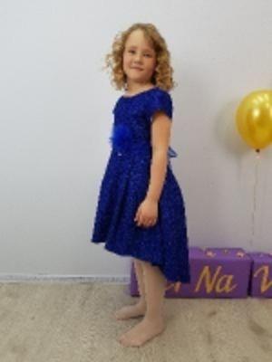 Детское нарядное платье - Анжелика блеск(оптом от производителя)
