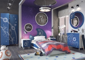"""Дизайнерская детская мебель """"Галактика"""""""
