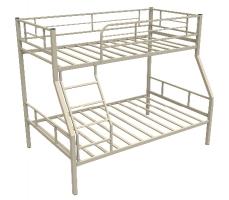 Двухъярусная кровать Гранада-1 бежевого цвета