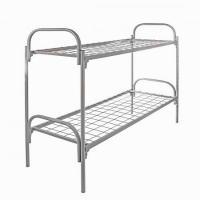 Двухъярусные и одноярусные металлические кровати для рабочих и строителей