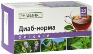 Фиточай ТМ «Эндемикс» «Диаб-норма»